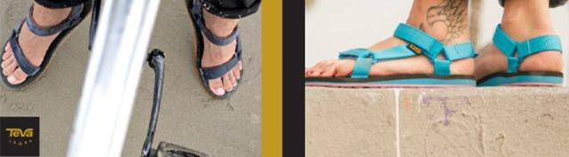 Teva sandalen en slippers